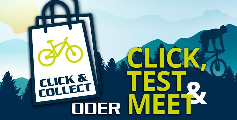 CLICK, TEST & MEET